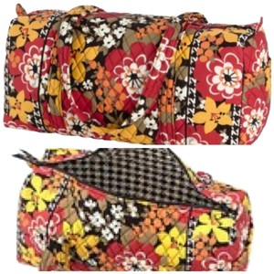 Vera Bradley Duffel Duffel Gym Tote Handbag Overnight Weekend Nwt New With Tags Luggage Small Duffel Travel Carry On Weekender Bittersweet Travel Bag