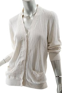 Marc Jacobs Sequins Cashmere Silk Windowpane Cardigan