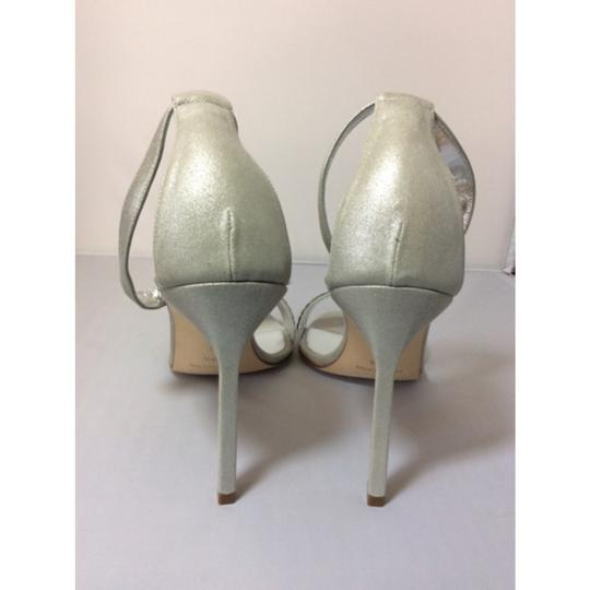 Manolo Blahnik Silver Formal