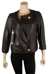 Alexander McQueen Vintage Leather Motorcycle Leather Jacket