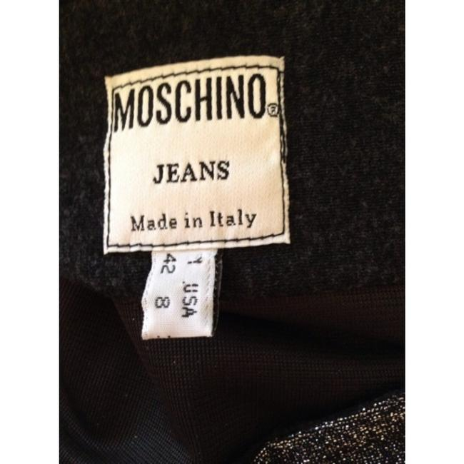 Moschino Skirt Silver metalic with gray combo.