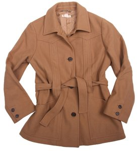 J.Crew Belted Wool Thinsulate Trench Coat