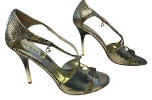 Guess Party Silver Sandals