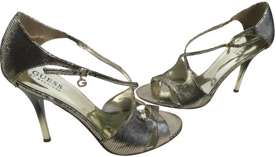 Preload https://item3.tradesy.com/images/guess-by-marciano-new-silver-embossed-leather-foot-ankle-strap-cut-outs-ombre-stiletto-heels-sandals-10164457-0-4.jpg?width=440&height=440