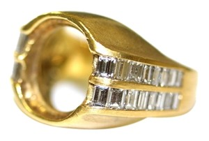 French Diamond Baguette Semi Mount