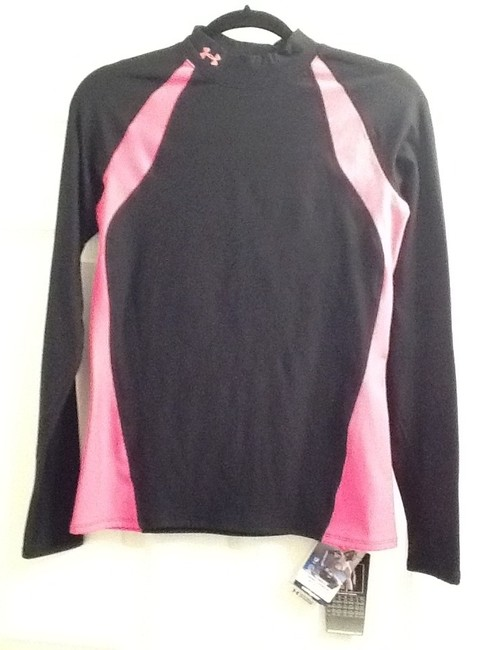 Preload https://item2.tradesy.com/images/under-armour-black-and-hot-pink-sweaterpullover-size-12-l-10164736-0-1.jpg?width=400&height=650