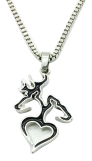Item - Black Deer Handmade Charm and Earring Set Necklace