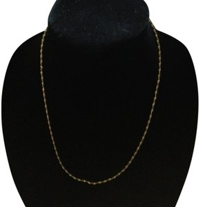 Other Vintage gold tone twisted chain necklace