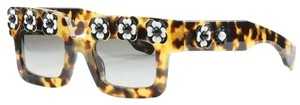 Prada New! Prada Limited Edition Floral Square Sunglasses