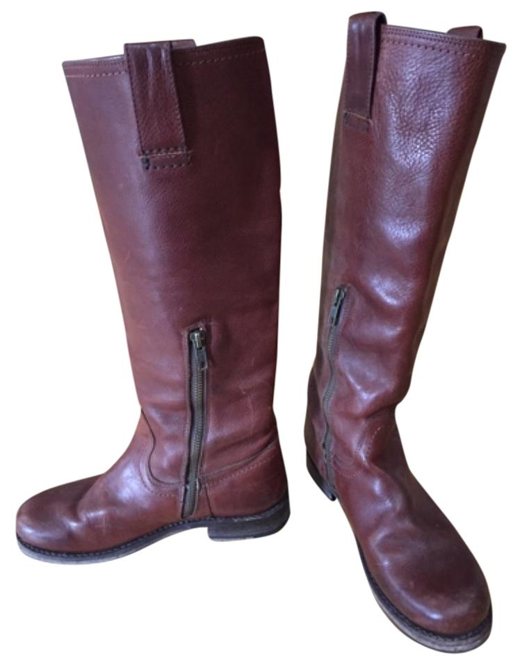 LADY Brown Frye Brown LADY Jenna Boots/Booties Lush design 800095
