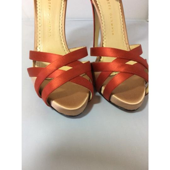 Charlotte Olympia Red Platforms