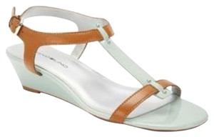 Bandolino Mint & Light Brown Sandals