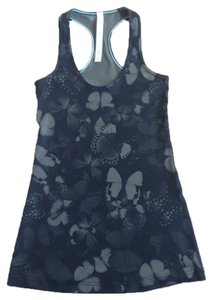 Lululemon New With Tags Lululemon Cool Racerback Tank Crb Size 4 Green Butterfly Explosion