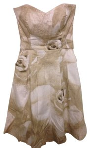 White House | Black Market short dress Ivory, Beige, Taupe, White on Tradesy