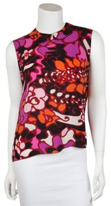 Marni Top Multi -- Red / Black / Purple