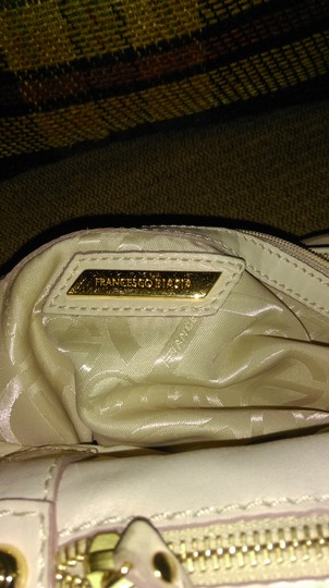Francesco Biasia Satchel in Ivory