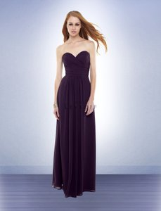Bill Levkoff Plum Dress