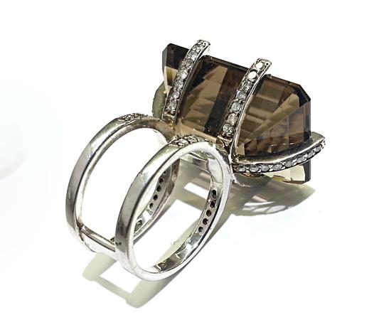 Heidi K Heidi K Design Ring in Sterling Silver With Aftermarket Set Diamonds 1.20 Carats TW Image 1