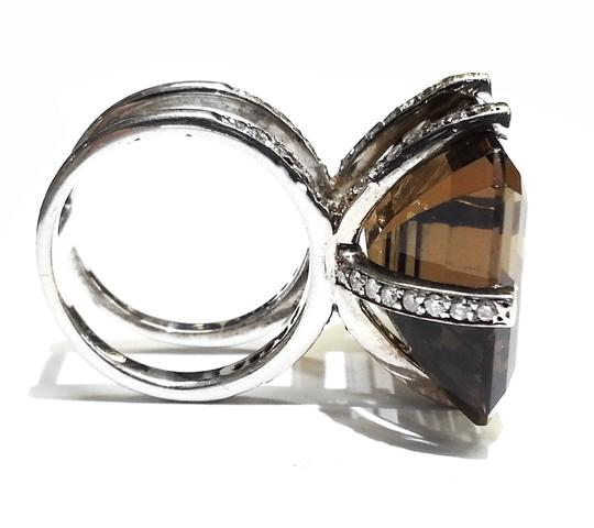 Heidi K Heidi K Design Ring in Sterling Silver With Aftermarket Set Diamonds 1.20 Carats TW Image 9