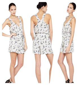BCBGeneration Greyhound Dogs Print Romper Dress