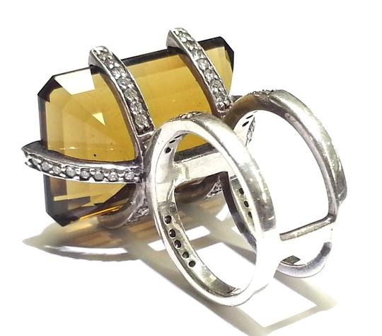 Heidi K Heidi K Design Ring in Sterling Silver With Aftermarket Set Diamonds 1.20 Carats TW