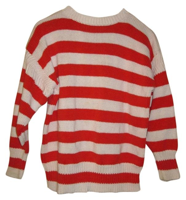Preload https://img-static.tradesy.com/item/10168039/gap-red-and-white-stripes-80s-vintage-sweaterpullover-size-6-s-0-1-650-650.jpg