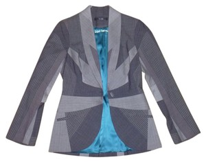 Yigal Azrouël Intricately detailed Yigal Azrouel piecework suit jacket size 8