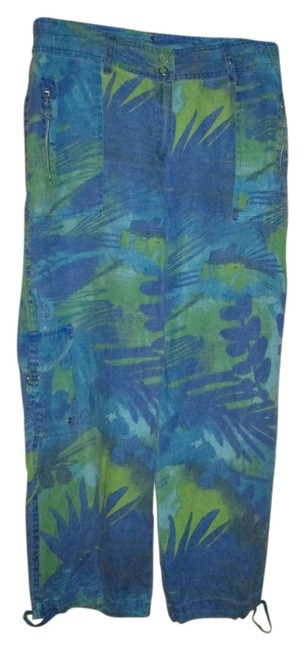 Preload https://img-static.tradesy.com/item/10168579/chico-s-blue-and-green-pattern-tropical-capris-size-10-m-31-0-1-650-650.jpg