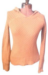 Parallel Hood Long Sleeve Cotton Ramie Sweater