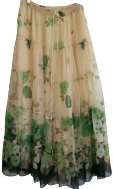 Preload https://item3.tradesy.com/images/rebecca-taylor-ivory-and-green-size-8-m-29-1017-0-0.jpg?width=400&height=650