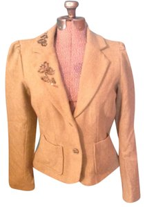 Old Navy Beads Olive green and cream Blazer