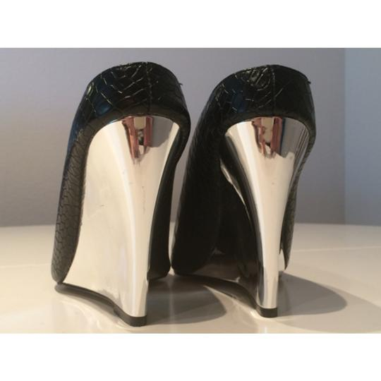 Other Black and silver Mules