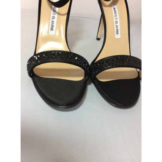 Manolo Blahnik Black Sandals Image 4