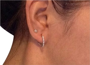 White Gold 14K Diamond Earrings