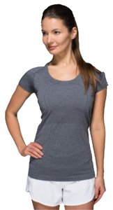 Lululemon Gray Lululemon Run Swiftly Tech Short Sleeve Tank
