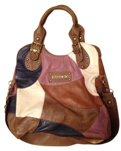 Kathy Van Zeeland Satchel in Multicolor