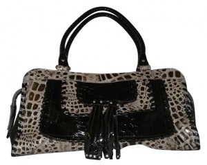 Madi Claire Satchel in Black