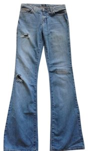 Dolce&Gabbana Dolce & Gabbana Distressed Boot Cut Jeans-Distressed