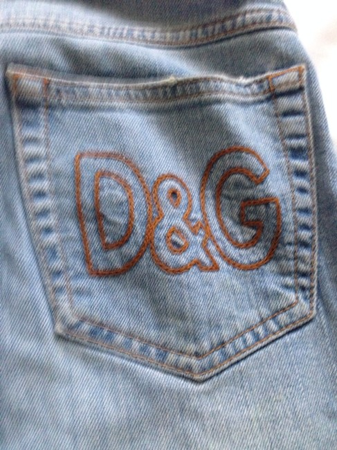 Dolce&Gabbana Dolce & Gabbana Distressed Ripped 28 26 2 Boot Cut Jeans-Distressed