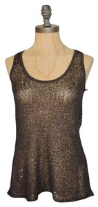 Willow & Clay Sparkle Top BROWN