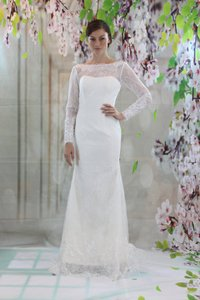 Long Sleeves Lace Wedding Dress Mermaid Bridal Gown Wedding Dress