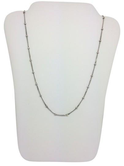 Preload https://item1.tradesy.com/images/14k-white-gold-beads-by-the-yard-chain-18-inches-necklace-10173175-0-1.jpg?width=440&height=440