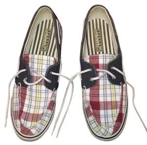 Sperry Navy, white, maroon, yellow Athletic