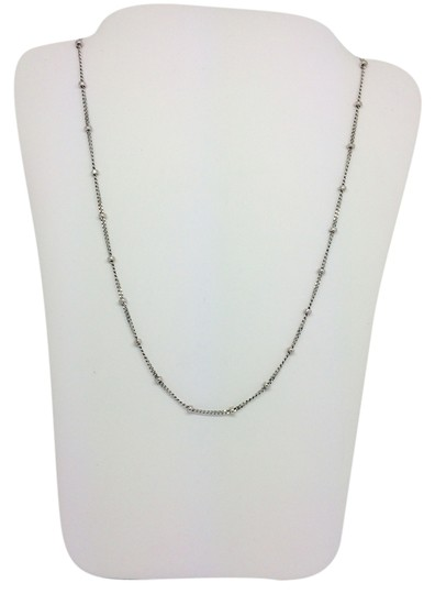 Preload https://item2.tradesy.com/images/14k-white-gold-beads-by-the-yard-chain-16-inches-necklace-10173316-0-1.jpg?width=440&height=440