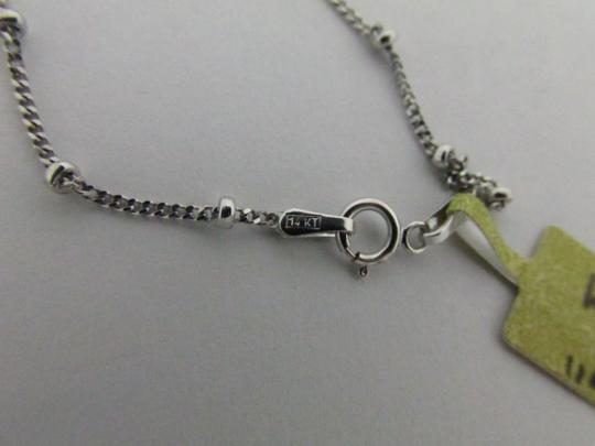 Other 14K White Gold Beads by the Yard Chain 16 Inches