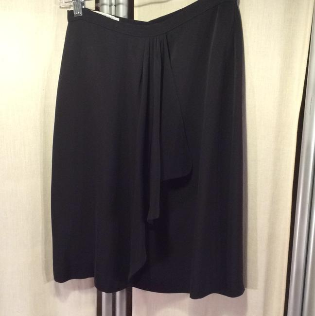 Armani Collezioni Pencil Classic Skirt black