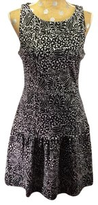Banana Republic short dress black and white Marimekko on Tradesy