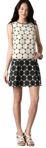 Ann Taylor LOFT short dress Drop Waist Mod Dots on Tradesy