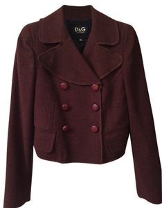 Dolce&Gabbana Military D&g Wool Military Jacket