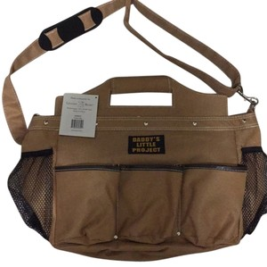 Lillian Rose Tan Diaper Bag